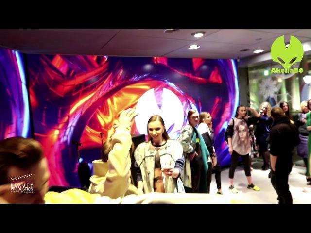 Mannequin challenge на показе Юлии Морозовой @Akellabo