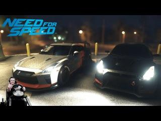 Nissan GTR'15 VS GTR'17 Sonchyk и OnePoint NFS 2016 на руле Fanatec Porsche 911 GT2