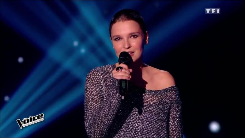 The Voice 2015│Anne Sila - Je t'aimais je t'aime et je t'aimerai (Francis Cabrel)│Blind audition