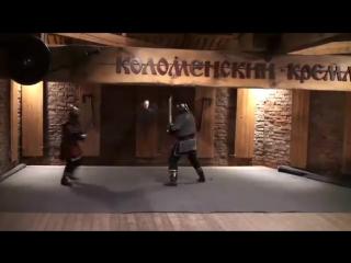 Так бились русские витязи на мечах и без