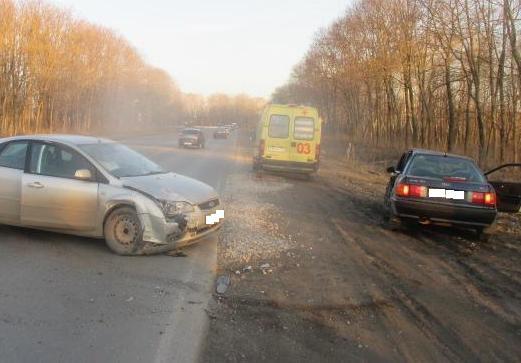 В результате ДТП пострадал водитель