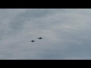 Авиационная часть парада