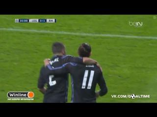 Легия - Реал Мадрид 0:1. Гарет Бэйл