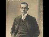 Rachmaninoff plays Rachmaninoff Etude-Tableau in A minor.