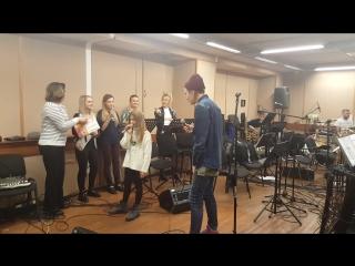 Михаил Житов и Мария Панюкова. Репетиции Нокаутов Голос-5
