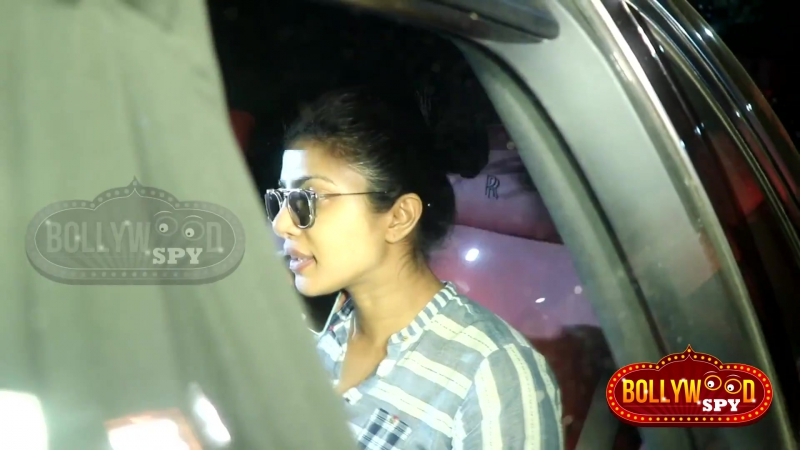 Priyanka Chopra SPOTTED At SLB s Office For Movie Discussion