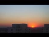 The Apt. sunset