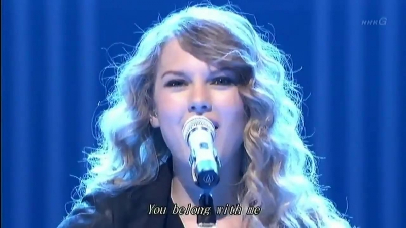 Taylor Swift - You Belong With Me (Live in Tokyo 2010)