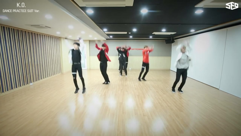 SF9 – K.O. 안무 연습영상(Dance Practice Video) SUIT Ver