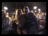 Biki G. nude in bar 4