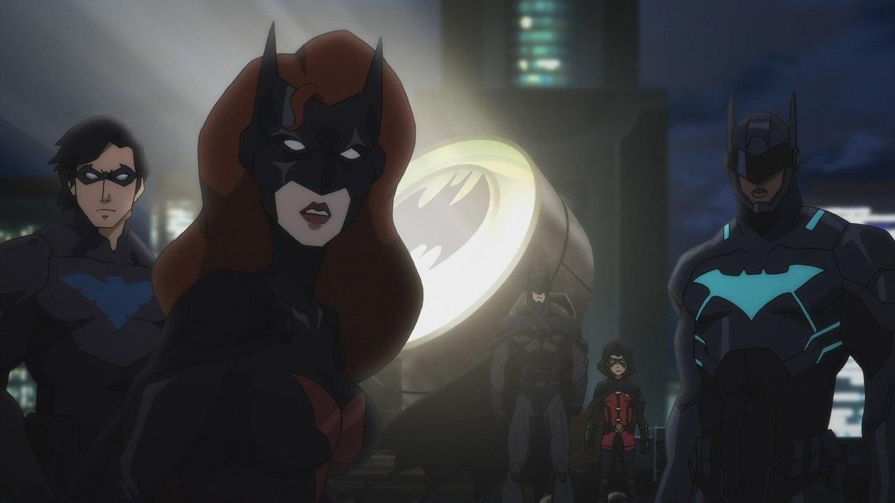 Bat family vs flash family movie