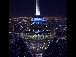 IRAN-Tehran-Milad Tower- LUXURY Persian Night
