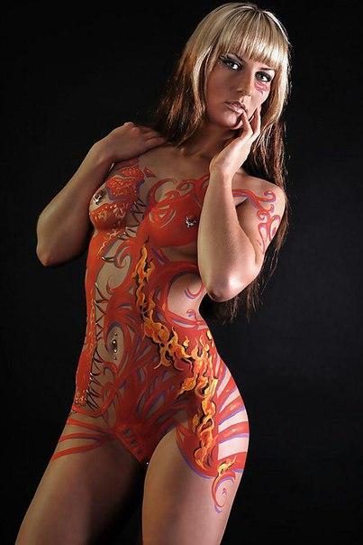 стиль боди арт картинки женщины фитнес