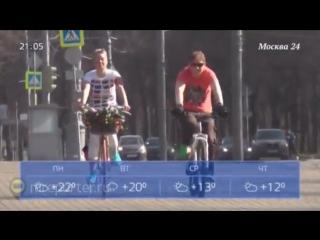 Первый день мая порадует москвичей теплой погодой