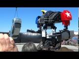 MegaBots огромный человекоподобный робот избил автомобиль