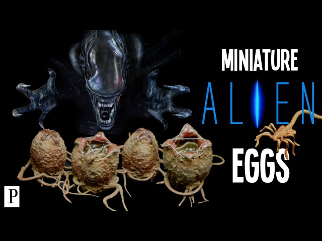 How To Make Alien Eggs For Miniatures Terrain Scenery