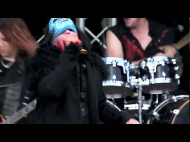 LIZZY-BORDEN live at Hellfest, CLisson, France June 16, 2012