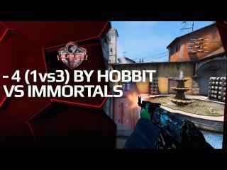 1v3 clutch by Hobbit vs Immortals, PGL Major Kraków Grand Final
