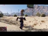 GTA 5 Трансформаторы Optimus Prime &amp Шмель Mod! (GTA 5 Модификации Игровой процесс компиляции # 62)