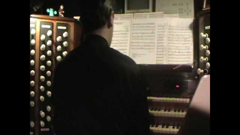 Kings College Cambridge Organ Recital 3) Marco Lo Muscio Ecstatic Meditation n.1 (To Messiaen)