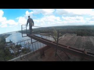 ExtremeSFD:Заруфили заброшенный завод/зацепили ТХ/побегали от ЧОПов