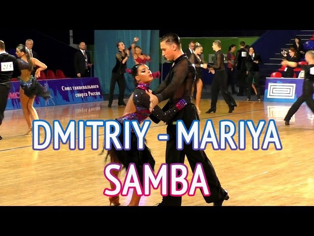 Dmitry Kulebakin Maria Chernykh | Samba | WDSF Youth Open Latin - Russian Open Championship 2016