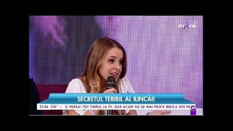 Ilinca risca să rămână fără voce chiar înainte de Eurovision