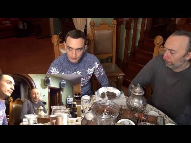 Фролов Ю.А. Беседа за чаем с Артёмом Хачатряном (врач, сыроед), Ч.3. о хозяйстве, о З ...