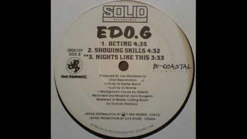 Edo G - Showing Skills