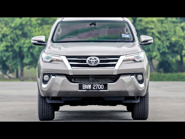 Toyota Fortuner SRZ MY spec AN160 2017