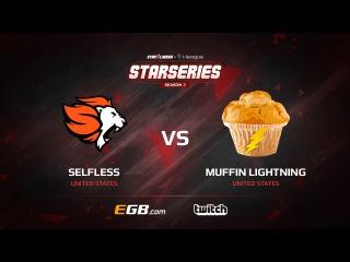 Selfless vs Muffin Lightning, map 1 cache, SL i-League StarSeries Season 3 NA Qualifier
