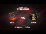 Eanix vs RONIN, map 2 cobblestone, SL i-League StarSeries Season 3 NA Qualifier
