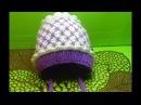 Вязание спицами шапочка на выписку 150