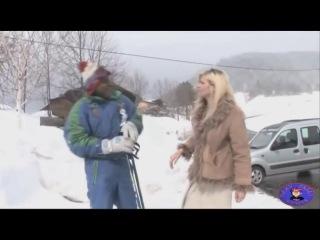 Kid Bengala sofre acidente de Ski e acaba comendo uma Alemã