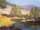 Пишем акрилом солнечную осень Vitali oil painting