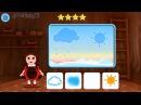 Лунтик Учим Английский язык - Время суток Развивающий Мультик Игра для детей Like BebyTV