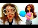 Игры с Барби лайфхаки для шпиона. Видео с игрушками.