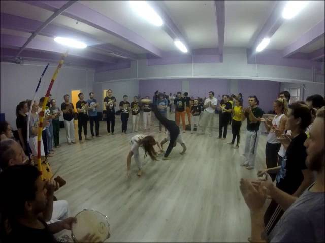 Friday roda. Teambuilding of The Russian Center for Capoeira. Part 1. Saint-Peterburg 2016