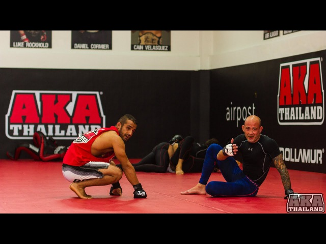 BJJ Inverted Traingle From A Knee Shield Guard