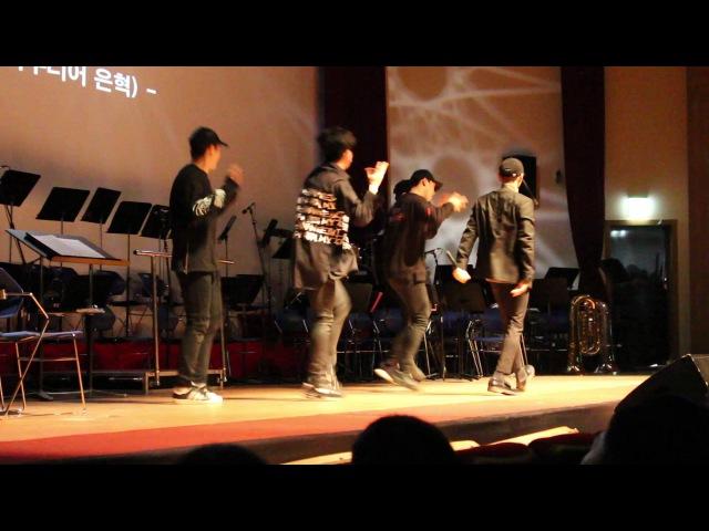 Uptown funk 슈퍼주니어 은혁 이혁재 민은홍 소프라노