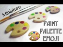 Miniature DIY Paint Palette Emoji