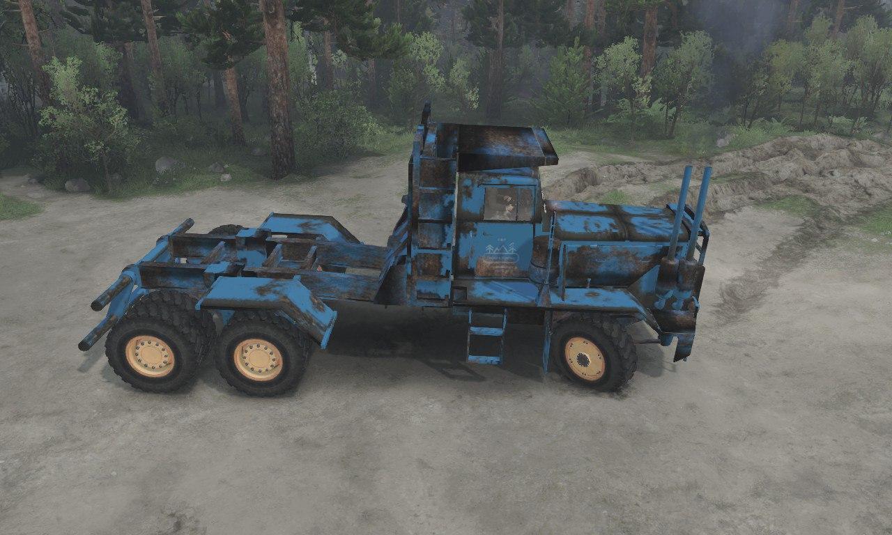 T.B.T HAYSE hdx Old Blue для 03.03.16 для Spintires - Скриншот 1