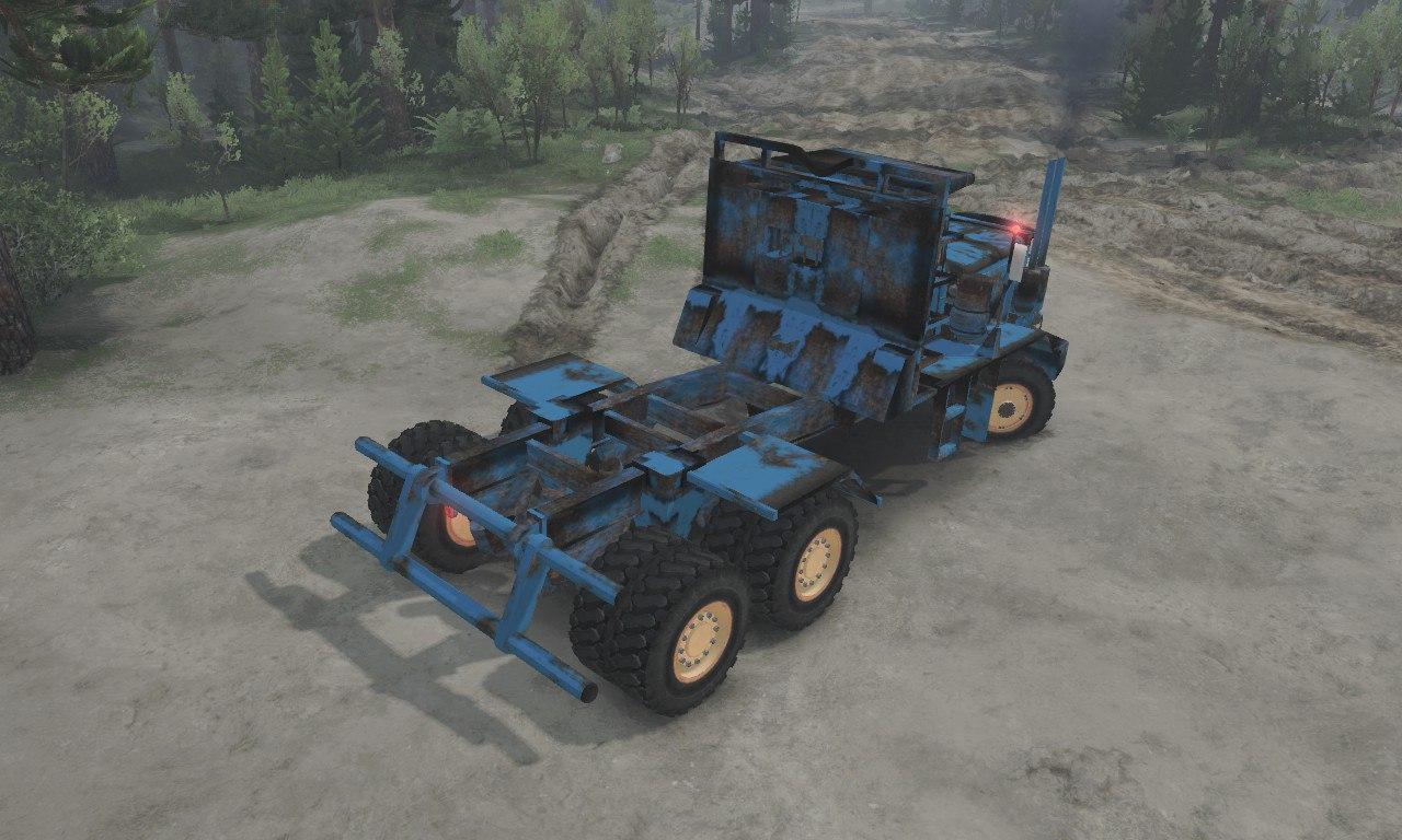 T.B.T HAYSE hdx Old Blue для 03.03.16 для Spintires - Скриншот 2