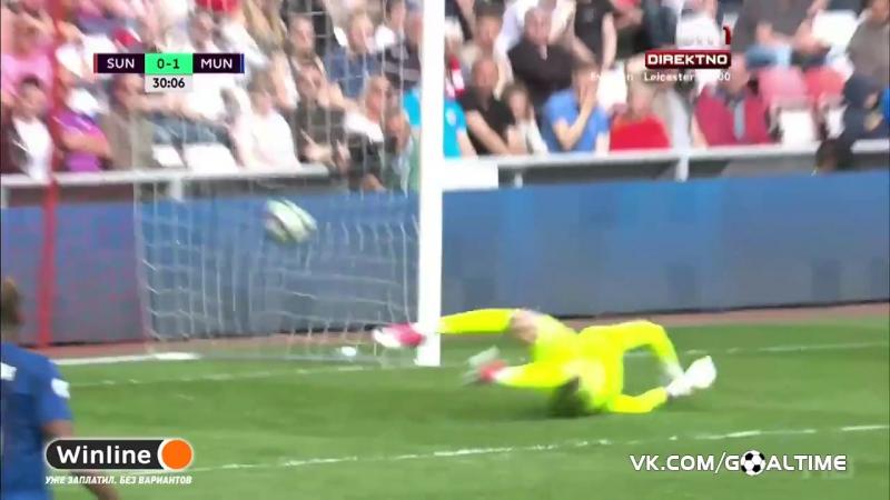 ГолТВ рф Сандерленд Манчестер Юнайтед 0 1 Ибрагимович