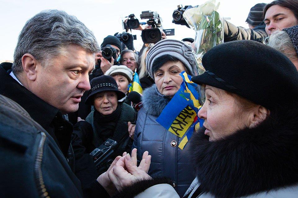 Украинцы проклянут Порошенко, а не Путина — киевская журналистка
