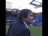 Футбол. Англия Премьер Лига. Челси и Антонио Конте.