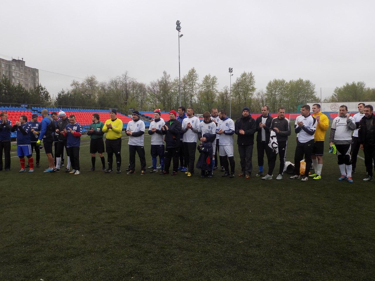 Ветераны провели турнир ко Дню Победы
