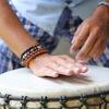 Открытый урок по джембе в Drumtrain