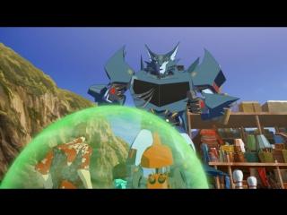 Трансформеры: Роботы под Прикрытием - 2 сезон 7 серия Full HD