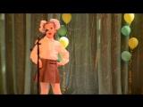 Таня выступает на конкурсе чтецов. А.Барто. Болтунья.
